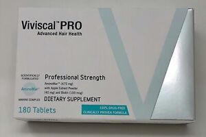 VIVISCAL PROFESSIONAL Hair Growth Dietary Supplement 180 tabs EXP 10/23