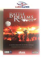 Battle Realms PC Como Nuevo Completo Mint Videojuego Videogame Retro SPA