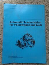 1975 Volkswagen Audi 5000 4000 Rabbit Vanagon Transmission Shop Manual Pristine