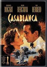 CASABLANCA (DVD, 2010) Disc like new, case has remainder cut in bar code