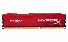 8GB Kingston HyperX Fury DDR3 1600MHz CL10 Memory Module Upgrade - Red