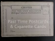 Old Letter Card: Chester Views x 10 Images, Photochrom Co Ltd - ALL IMAGES SHOWN
