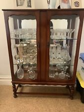 Display antique China Cabinet
