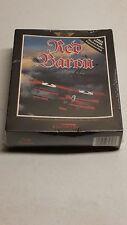 Red Baron by Dynamix 3.5 Disk Game SEALED-NEW-PC Computer-WWI Dogfighting Action