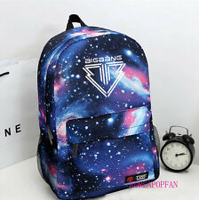 BIGBANG G-DRAGON GD ALIVE BAG BACKPACK SCHOOLBAG BLUE KPOP NEW