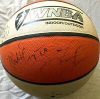 1999 Sparks team autographed signed WNBA basketball (Lisa Leslie Tamecka Dixon)