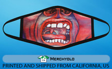 King Crimson fabric cotton face Mask