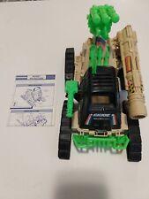 GI Joe Patriot Vehicle Complete with Blueprints