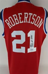 """Alvin Robertson """"86 DPOY"""" Signed 1985-86 NBA Western Conference All-Stars Jersey"""