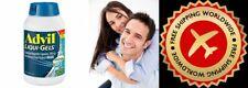 Advil Liqui-Gels 200 mg Ibuprofen 240 Caps Pain Relief-FREE WORLDWIDE SHIPPING>>