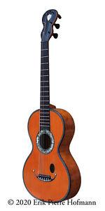 Fine antique guitar by Coffe, Mirecourt (France), c.1828/30