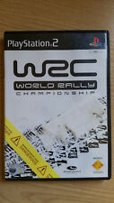WRC WORLD RALLY CHAMPIONSHIP PS2 PLAYSTATION 2 GAME.COMPLETE.