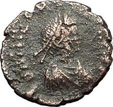 THEODOSIUS II 425AD Christian CROSS Genuine Authentic Ancient Roman Coin i59274