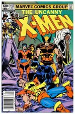 UNCANNY X-MEN #155(3/82)1:BROOD(AVENGERS/WOLVERINE)NEWSSTAND CVR.(CGC WORTHY)9.8