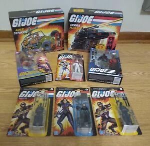 Hasbro GI Joe Wal-Mart Retro and Classified Series Huge Sealed Lot!!