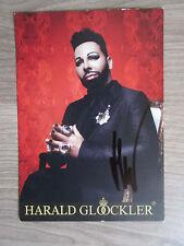 Harald Glööckler original handsignierte Autogrammkarte!!! TT2