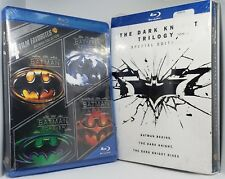 7 Batman Collection Movies Dark Knight Trilogy Blu-ray Begins Returns Forever