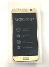 New Open Box Samsung Galaxy S7 SM-G930T Unlocked T-Mobile Gold Simple Ultra
