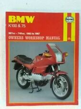 BMW K100 K75 Workshop Manual Haynes 1373