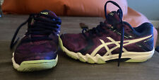 Asics Gel Court Control Size 5 Purple Shoes Shoes Nice ( Make OFFER) Wow 🤩
