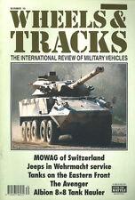 WHEELS & TRACKS 70 MOWAG AFV / WW2 EASTERN FRONT / AVENGER SPG / CAPTURED JEEPS