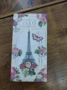 Punch Studio Musical Keepsake Box With 1 Scented Soap - Paris Eiffel Tower Works