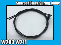 Sunroof Black Spring Cable For Mercedes W203 W211 C E Class Left-Right 2000-07