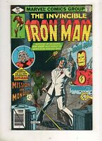 Iron Man #125 EARLY SCOTT LANG ANT-MAN & JIM RHODES! AVENGERS APP! VF+ 8.5 BEAUT