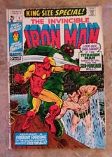 Iron Man King-Size Special #1 (1970)  Sub-Mariner crossover! Marvel