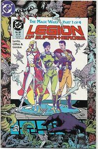 Legion of Super-Heroes (1988) #60 - VF Plus - The Magic Wars