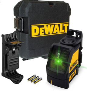 Dewalt DW088CG Green Cross Line Laser Level Self Inc Bracket - Latest Model