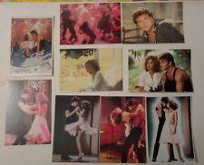 9 carte postale cinéma film  Dirty Dancing Patrick Swayze Jennifer Grey