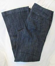 "Ladies ""Maurices"" Size 5/6R (W30 X L32) Blue, Mid-Rise, Boot Cut, Dress Jeans"