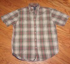 GAP ~ MEN'S Size MEDIUM ~ Button Down SHORT SLEEVE Shirt