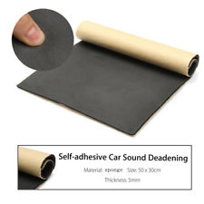 30x50cm Auto SUV Van Sound Proofing Deadening Insulation 5mm Closed Cell Foam