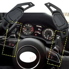 Gear Steering Wheel Shift Paddle DSG Fit  For Audi A5 S3 S5 S6 SQ5 RS3 RS6 RS7