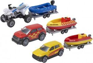 Teamsterz Die-cast Emergency Response Sea & River Rescue Patrol Set Popular
