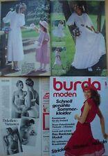 Burda Mode 81/05 Hochzeit Braut Fest Karibik Wäsche Mieder 80er Modezeitschrift
