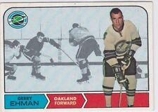 1968-69 TOPPS HOCKEY GERRY EHMAN CARD #84