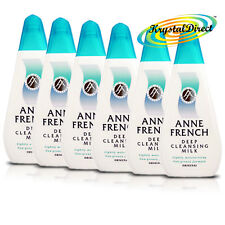 6x Anne French Deep Cleanser Moisturising Facial Face Cleansing Milk 200ml