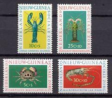 Dutch New Guinea - 1962 Welfare / Crabs / Lobsters Mi. 78-81 MNH