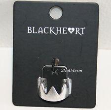Riverdale Jughead Jones Crown Replica Costume Ring Silver Tone SZ 7 Blackheart