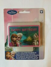 Disney FROZEN Birthday CANDLE CLEARANCE PRICES
