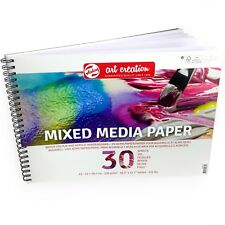 Royal Talens – Art Creation A3 Mixed Media Paper Sketchbook – 30 Sheets – 250gsm