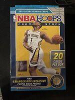2019-2020 Panini NBA Hoops PREMIUM STOCK Hanger BOX NEW--SEALED