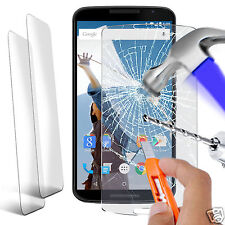 Twin Pack - Genuine Tempered Glass Film Screen Protector for Motorola Nexus 6