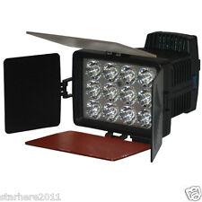 Adjustable 12 LED 36W Video Light for DV Camcorder Camera Hot Shoe Lamp LED-1040