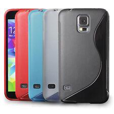 [SLIM GRIP] Samsung Galaxy S5 Case Premium Flexible S Type TPU Cover,Case-4pcs