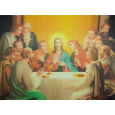 New Jesus Figure Lenticular 3D Picture Poster Painting Home Decor Wall Art Decor