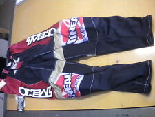 NOS Oneal O'Neal Hard Wear Motocross MX BMX Racing Pants Kevlar Knees Size 30